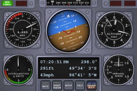 V-Cockpit GPS