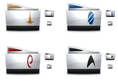Star Trek Folders