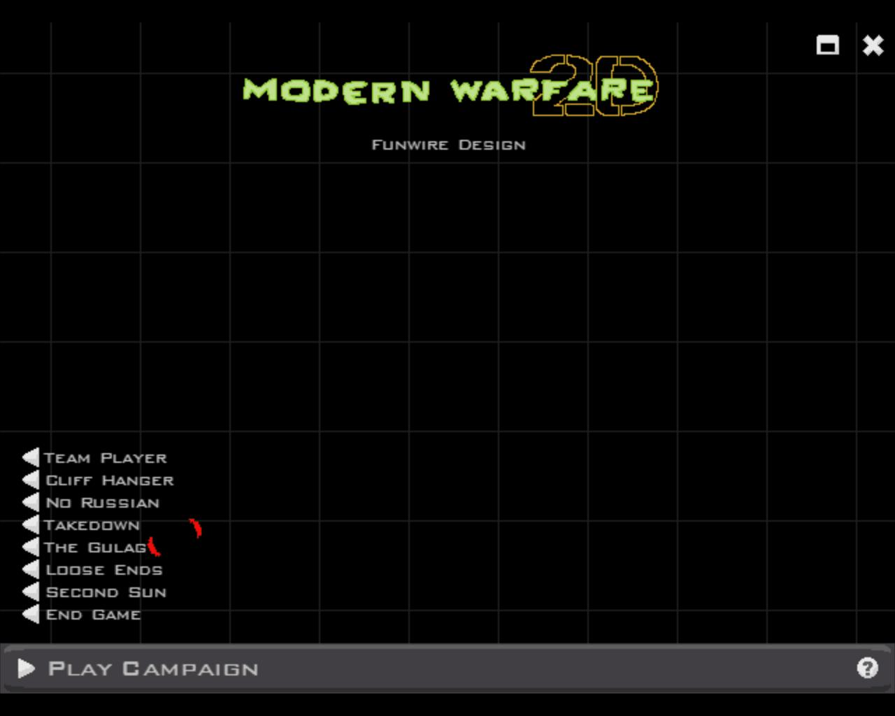 Modern Warfare 2D