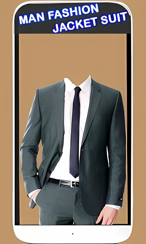 Man Fashion Jacket Suit