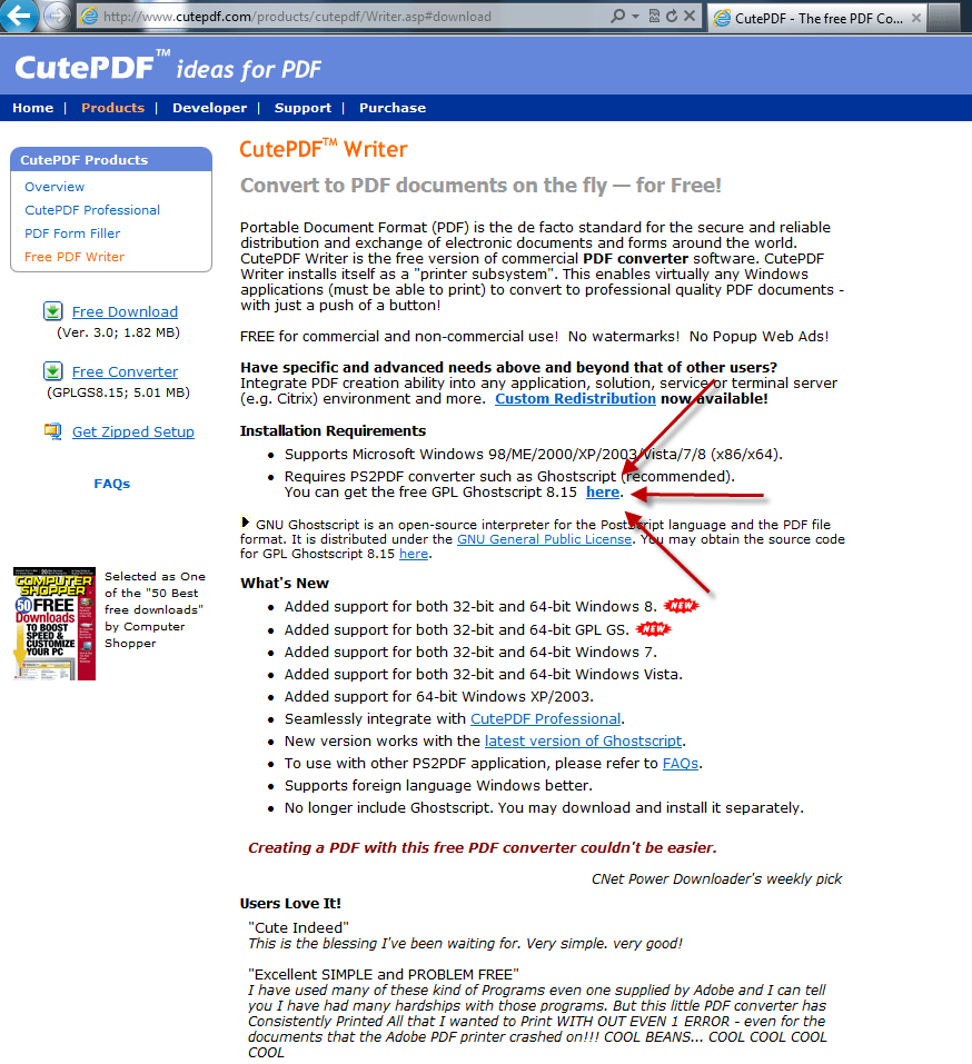 Cutepdf Writer Safe Cutepdf Writer