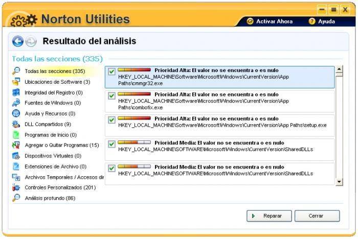 Norton Utilities