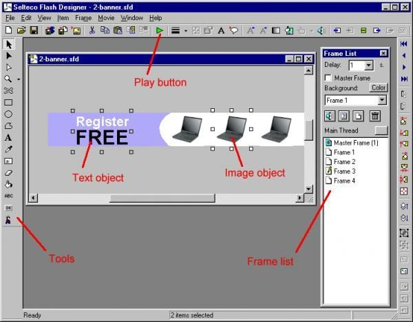 Selecto Flash Designer