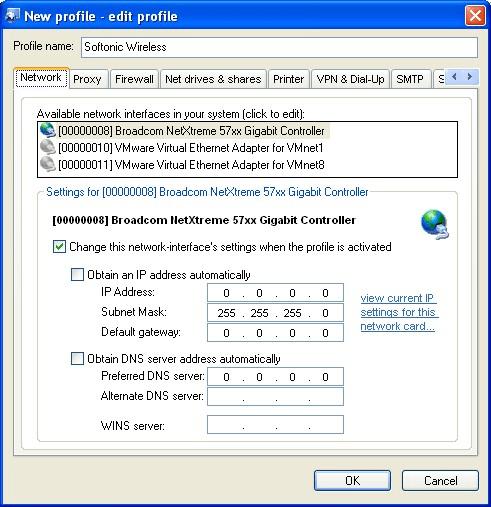Net Profile Switch