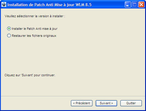 Anti-Update Patch für Windows Live Messenger 8.5