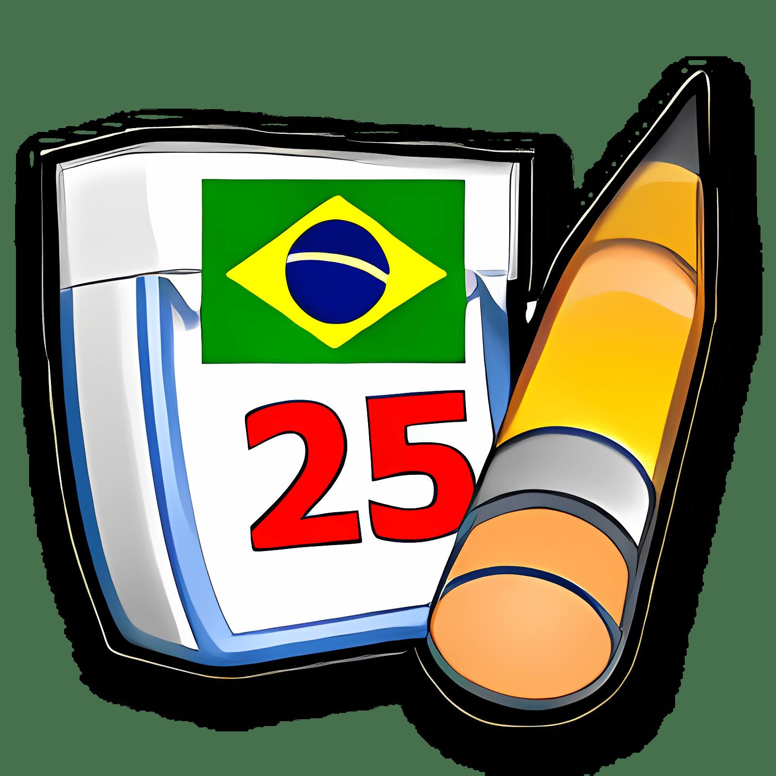 Brazilian Portuguese for Rainlendar