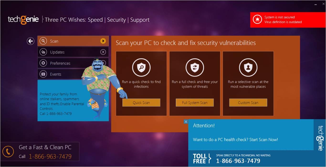 TechGenie Free Antivirus