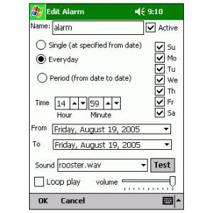 Pocket Alarm
