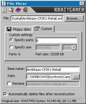 File Slicer
