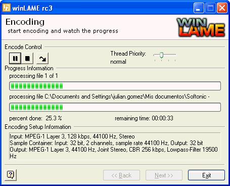 winLAME Portable