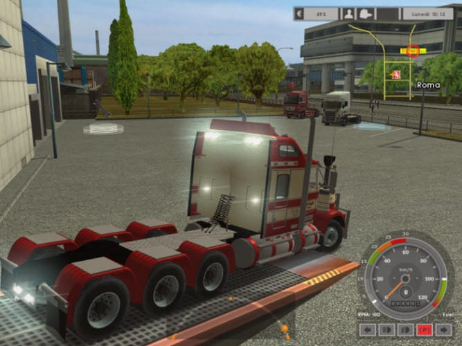 Euro Truck Simulator Kenworth Road Train T800 8x6
