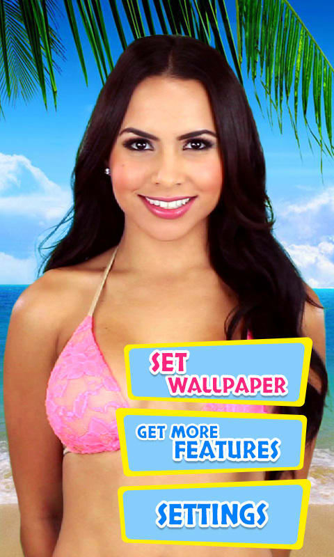 Bikini.com Lisa Morales Live Wallpaper