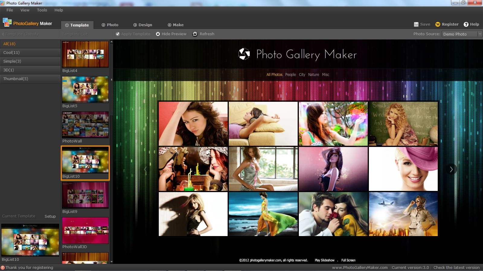Photo Gallery Maker
