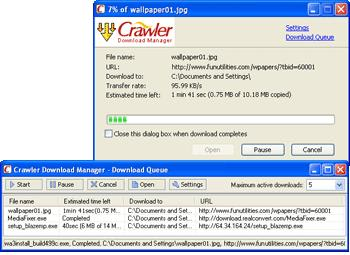 Crawler Download Manager