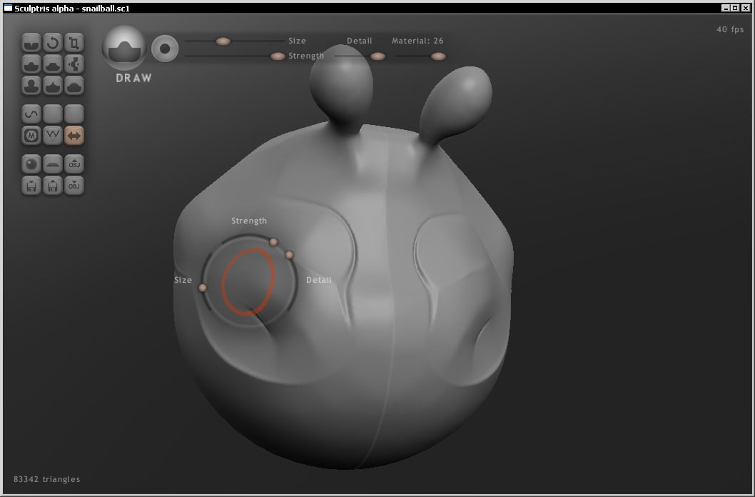 Sculptris Alpha 5