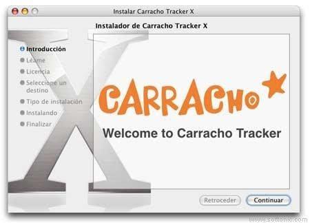 Carracho Tracker