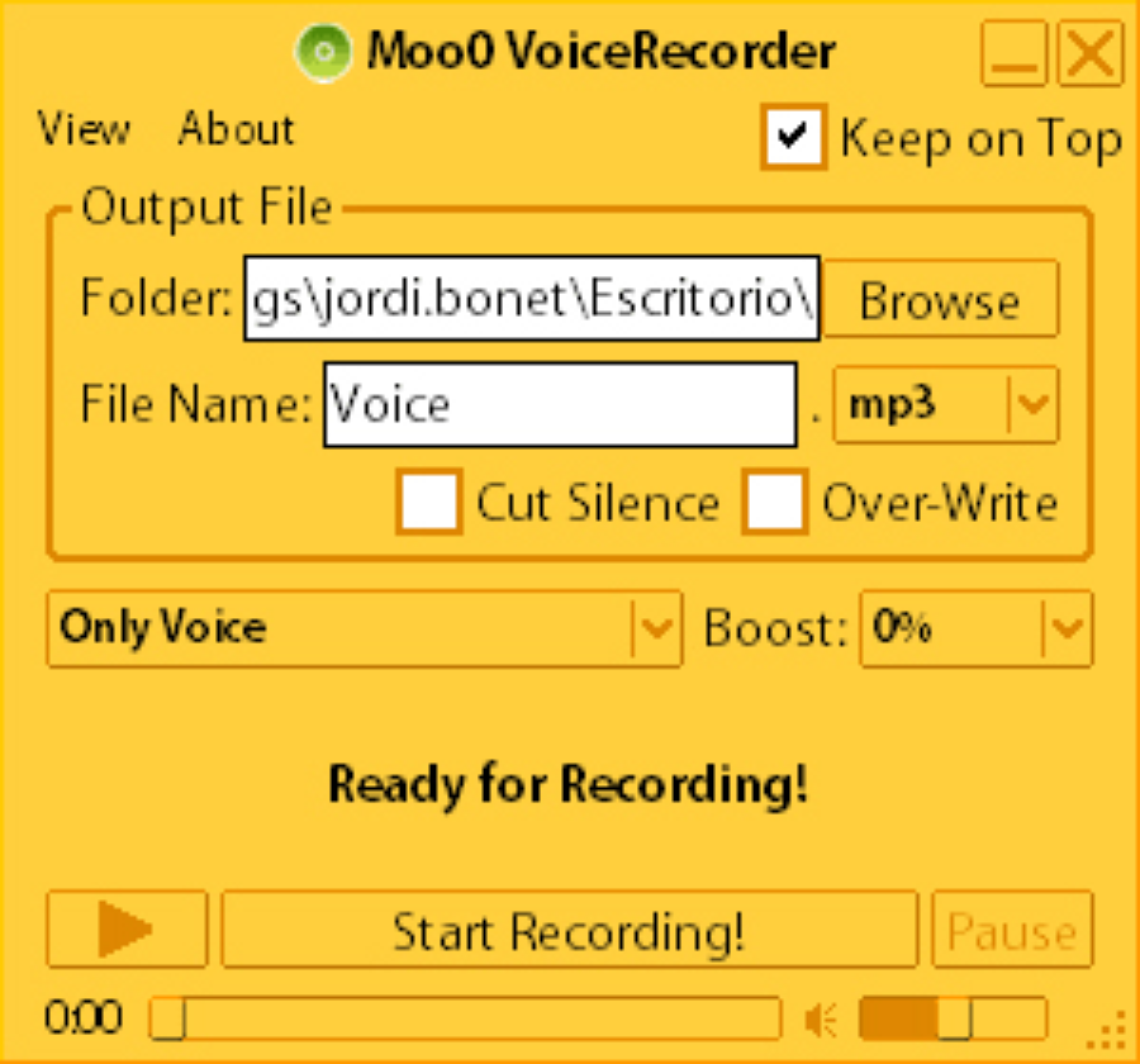 Moo0 VoiceRecorder