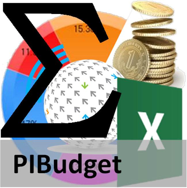PIBudget App for Excel 1