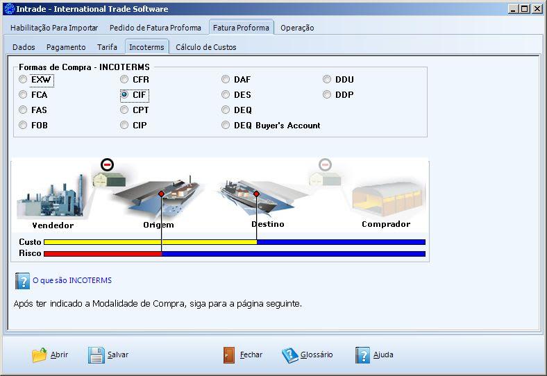 Intrade - Software de Comércio Exterior