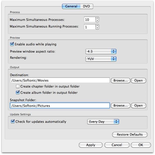 AVCWare Mac DVD Converter