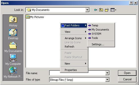 Fast Folder Access