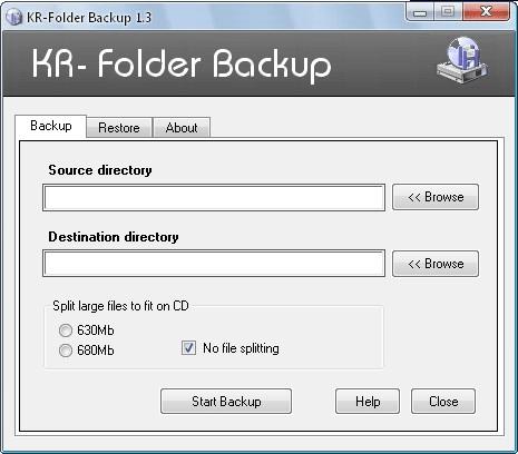 KR-Folder Backup