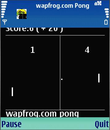 Wapfrog Pong