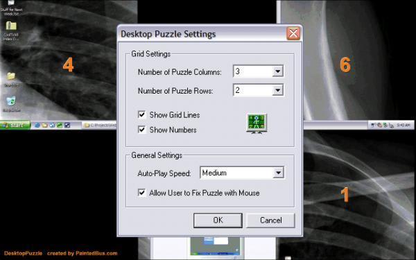 Desktop Puzzle Screensaver