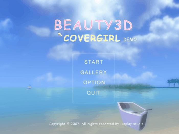 Beauty3d: Covergirl