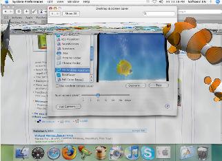Something Fishy: 3D Desktop Aquarium Screen Saver
