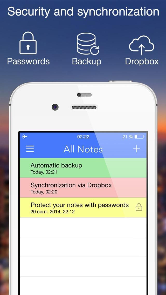 La Notas Note-Ify: Las notas de color con recordatorios, TextExpander y sincronizacion con Dropbox