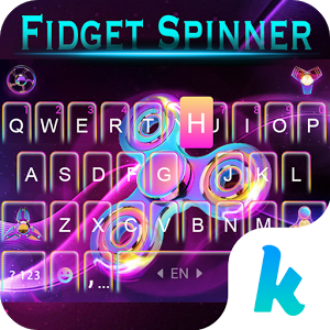Fidget Hand Spinner Keyboard Theme
