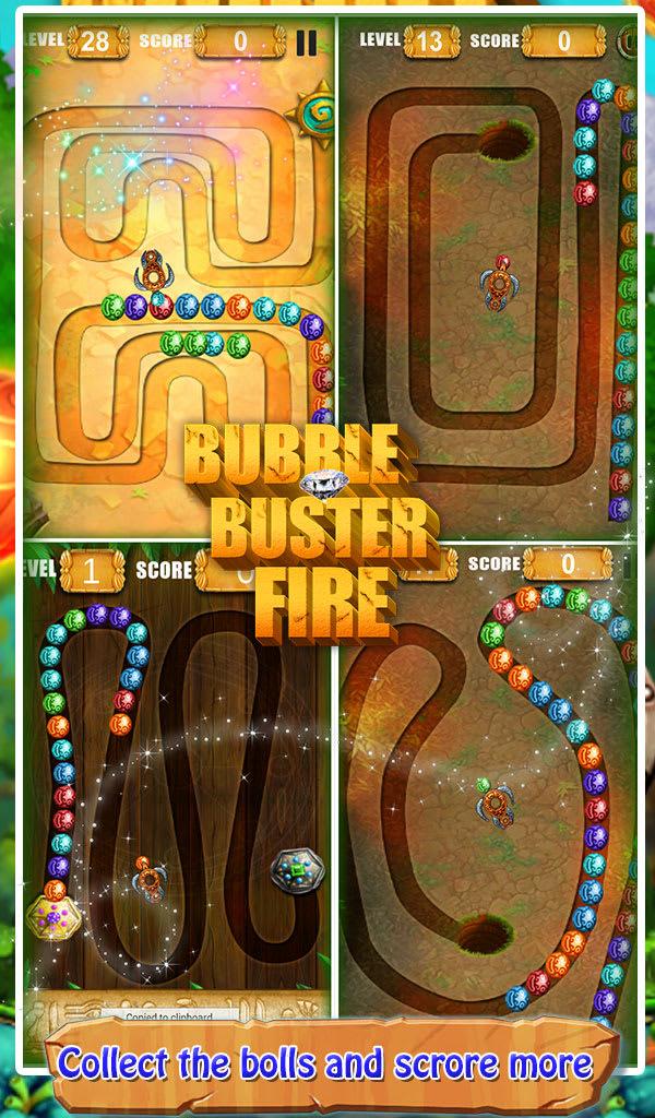 3D Bubble Buster Fire