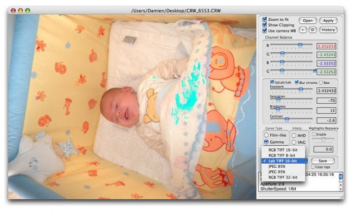 Raw Photo Processor