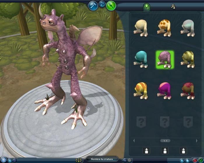 Spore Creature Editor