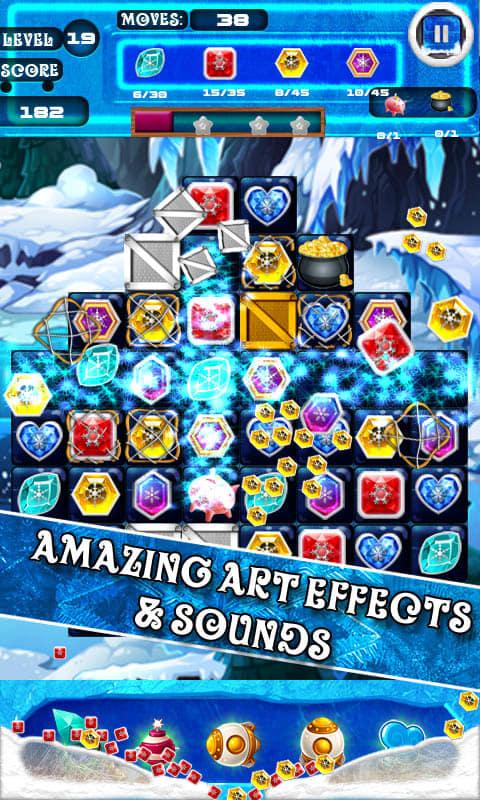 Frozen Ice Jewels Kingdom