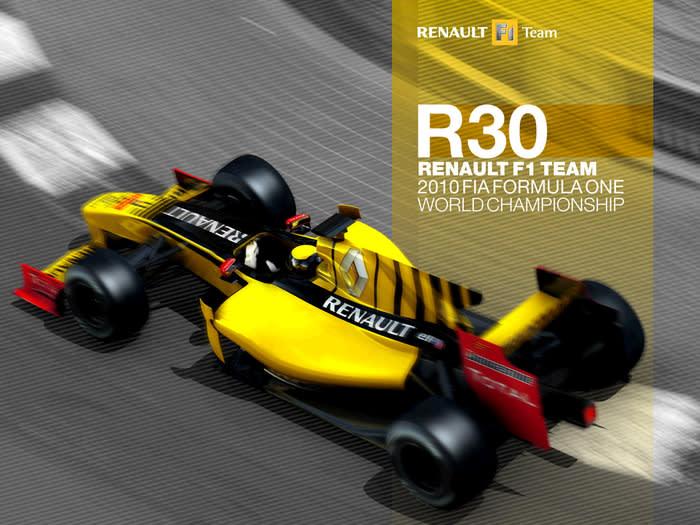 Renault R30 Launch 2010 Wallpaper