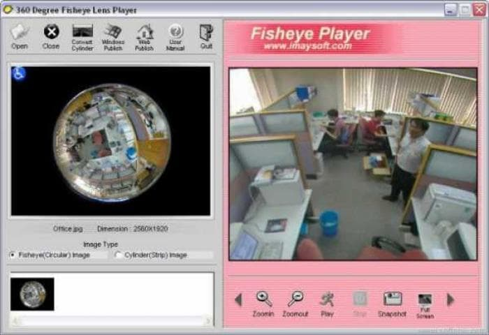 FishEye Player