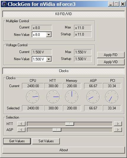 Clockgen for ABit AS8