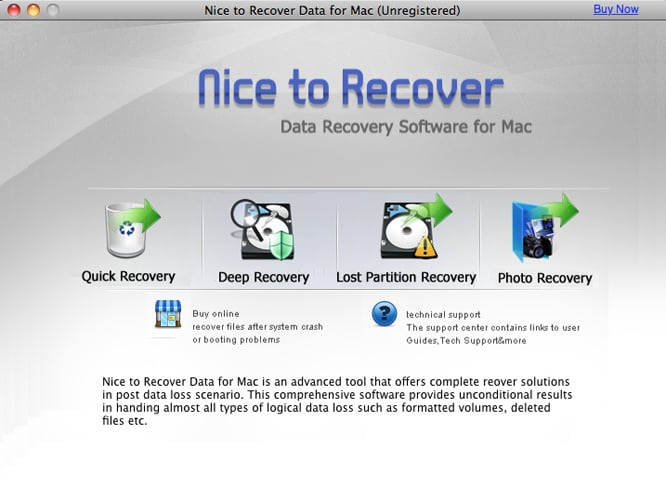 Nice to Recover Data
