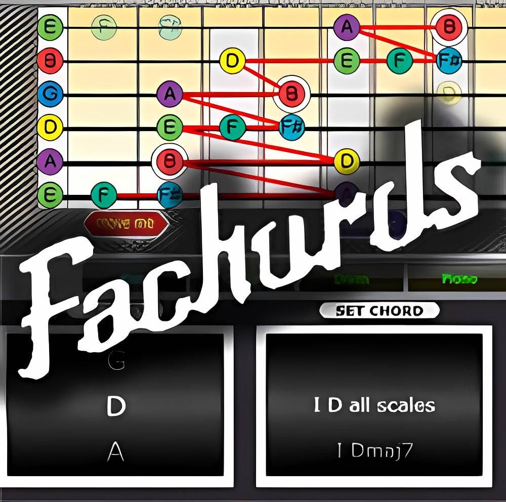 Fachords Guitar Speed Builder