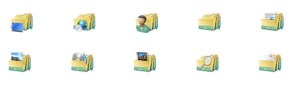 Windows 7 Icon folder Package
