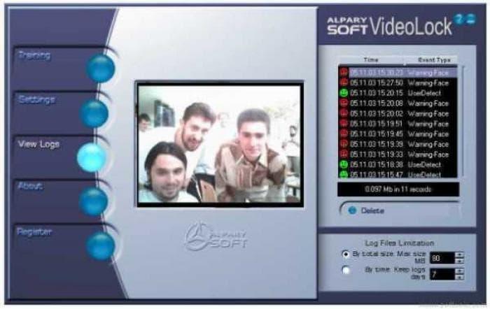 Alparysoft VideoLock