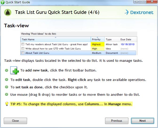 Task List Guru