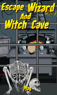 Escape Wizard and Witch Cave