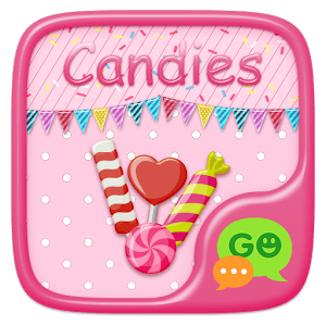 (FREE) GO SMS CANDIES THEME