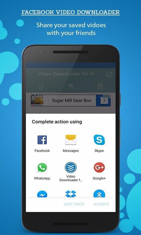 Facebook Video Downloader for Android - Download