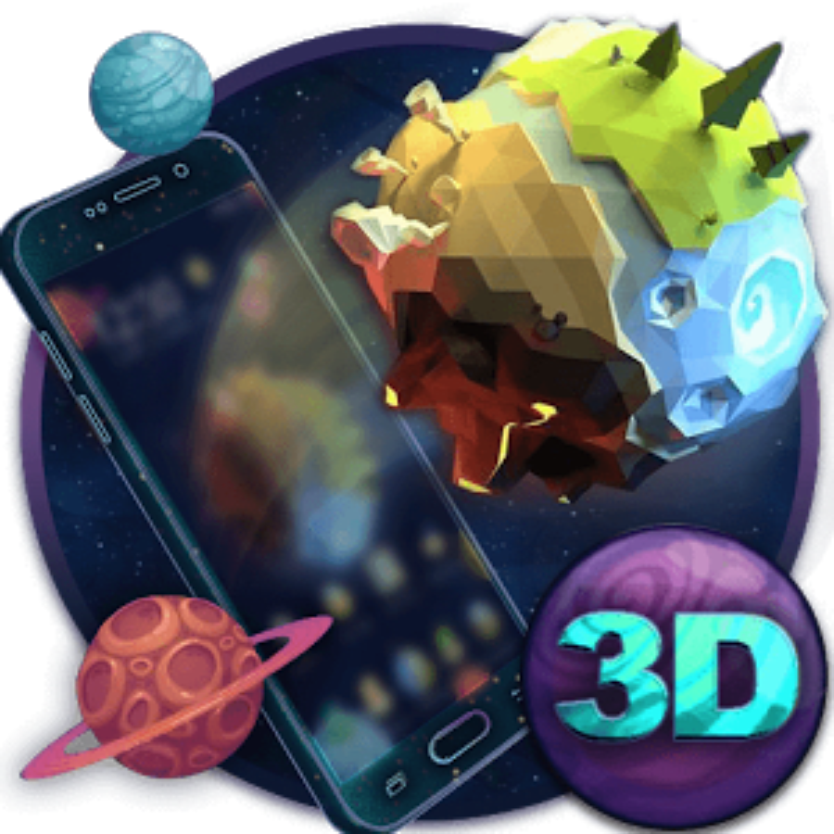 Earth Element 3D Theme