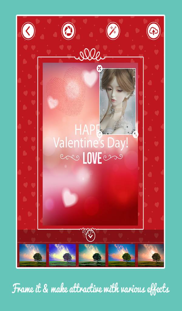 Valentine Day Card Creator