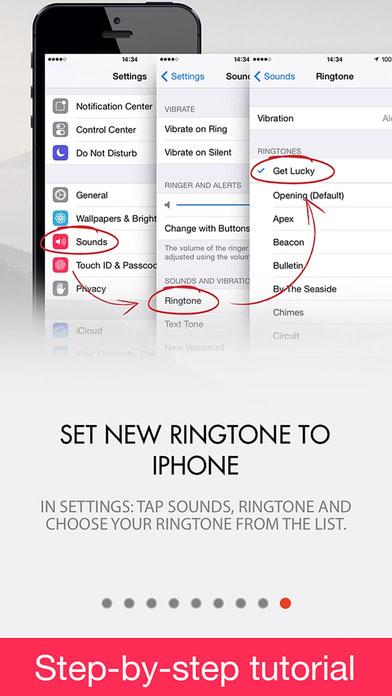 Ringtones for iPhone FREE & music Ringtone Maker!